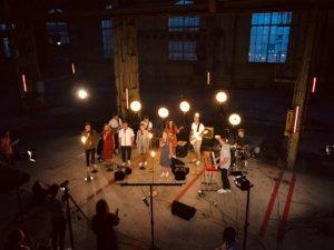 Aufnahmen eines Musikvideos für das Missionsfest. Foto: BrunstadTV