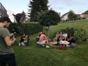 Die Filme waren im Vorfeld von der Schweizer Gemeinde produziert worden. Foto: BrunstadTV