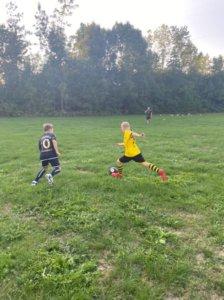 Im Anschluss an das Training findet jeweils noch ein Spiel statt.